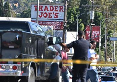 الشرطة الأمريكية تتعامل مع الحادث