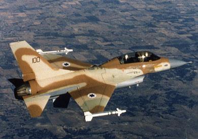 طائرة حربية إسرائيلية - أرشيفية