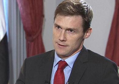 السفير البريطاني بالقاهرة جون كاسن