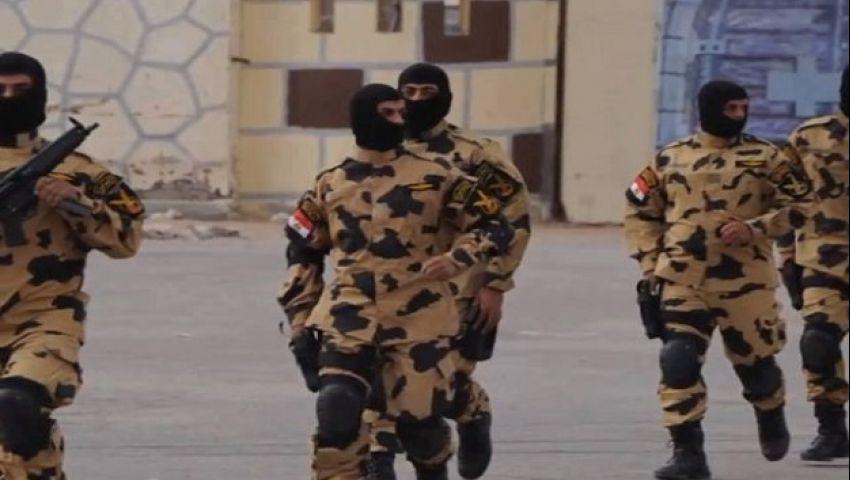عناصر القوات المسلحة - سيناء