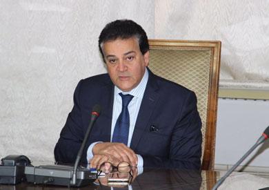 وزير التعليم العالي: تعديل قانون تنظيم الجامعات والموافقة على إنشاء معهد لتطوير الدواء بكفر الشيخ