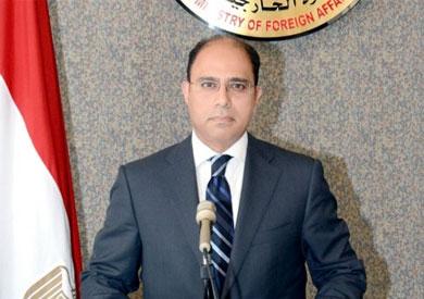 أحمد أبو زيد المتحدث باسم وزارة الخارجية