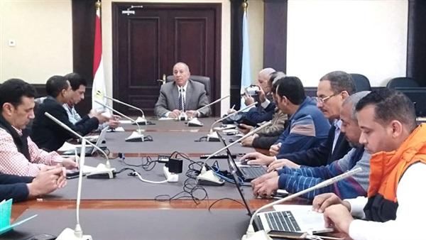 محافظ البحر الأحمر يستعرض مشروعات 2019 خلال مؤتمر صحفي -