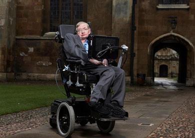 عالم الفيزياء الراحل ستيفن هوكينج