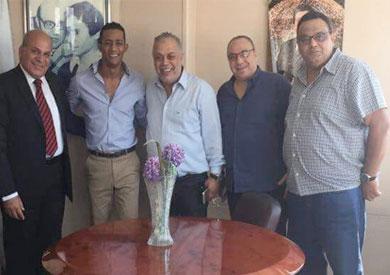 اجتماع تسوية الأزمة بين محمد رمضان ونقابة الموسيقيين
