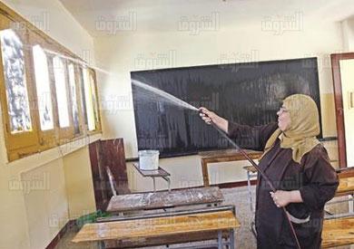 «التعليم» تنتهى من صيانة 80% من المدارس استعدادًا للعام الجديد