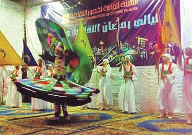 الفنون الشعبية تتألق في ختام ليالي رمضان بالإسكندرية<br/>