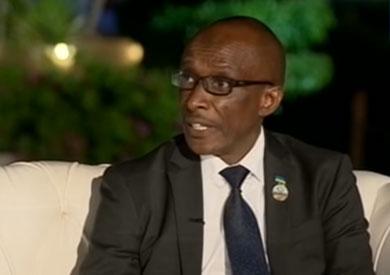 سفير رواندا لدى مصر صالح هابيمانا