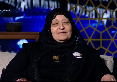 والدة الشهيد أحمد حسين