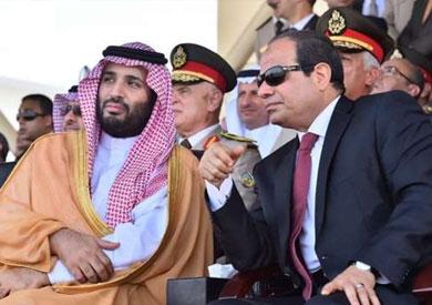 الرئيس السيسي وولي العهد السعودي الأمير محمد بن سلمان