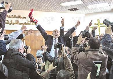 الحكم فى قضية تيران وصنافير تصوير ابراهيم عزت