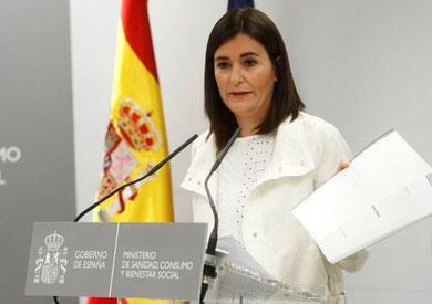 وزيرة الصحة الإسبانية كارمن مونتون