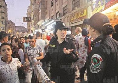 سينمات وسط البلد و الشرطة النسائية فى عيد الفطر 2016 تصوير احمد عبد الفتاح