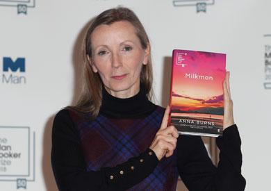 الكاتبة الإيرلندية الشمالية آنا بيرنز