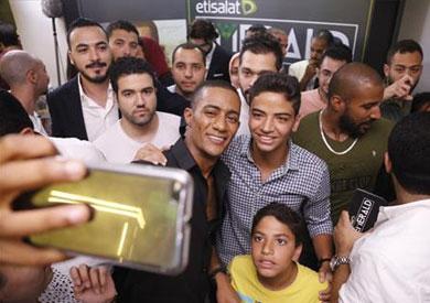 بالصور.. «اتصالات مصر» تحتفي بفيلم «جواب اعتقال» لمحمد رمضان