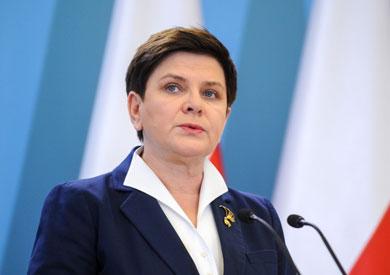 رئيسة وزراء بولندا بياتا شيدلو