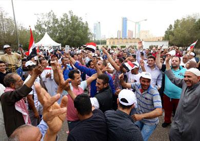 المصريون في الكويت يشاركون في الانتخابات الرئاسية
