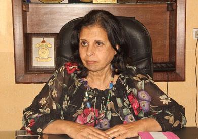نادية زخاري رئيس اللجنة العلمية بالمجلس القومي للمرأة