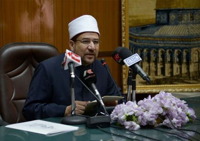 محمد مختار جمعة وزير الأوقاف