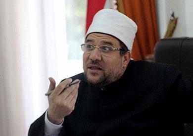 محمد جمعة وزير الأوقاف