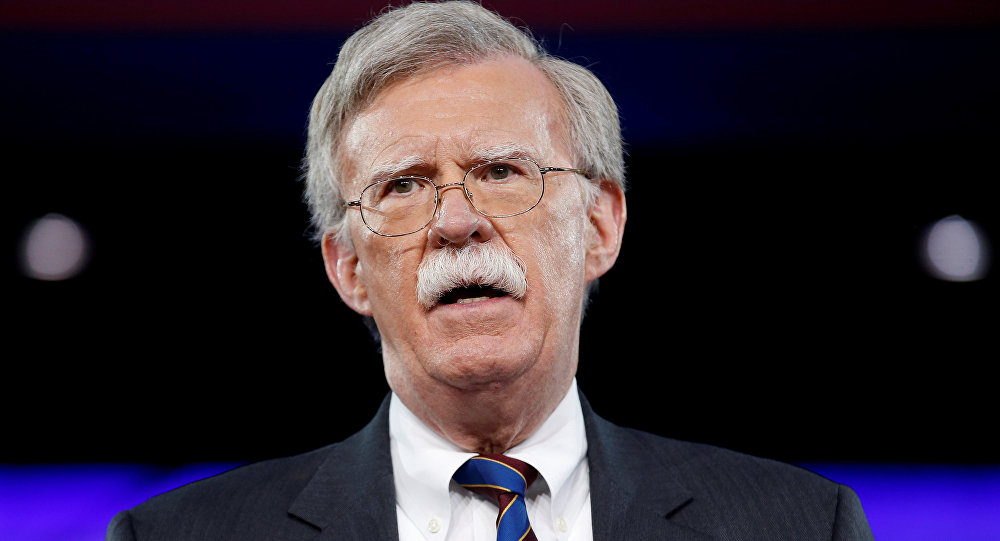 مستشار الأمن القومي الأمريكي السابق -جون بولتون