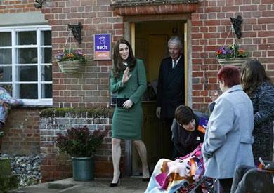 كاثرين زوجة الأمير وليام تنضم إلى برنامج تعليمى عن الحياة فى الريف