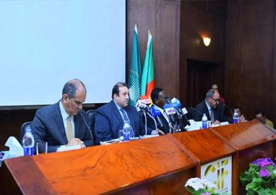 مؤتمر صحفى لإعلان تفاصيل معرض القاهرة الدولى