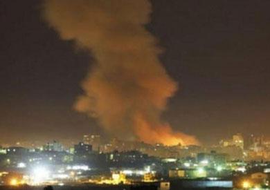قصف مواقع للنظام بريف دمشق - أرشيفية