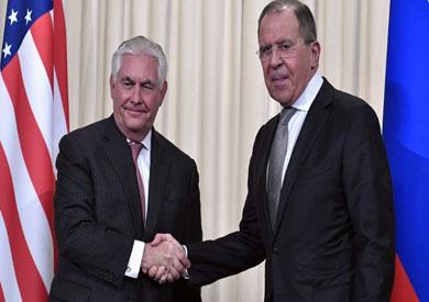 «لافروف» و«تيلرسون» يبحثان هاتفيا تخفيف التصعيد في سوريا