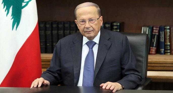 عون يشترط عدم المساس بالدستور لحل الأزمة السياسية في لبنان