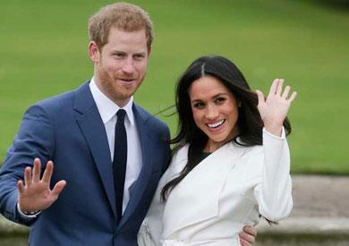 الأمير هاري وخطيبته ميجان ماركل