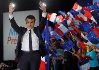 «ماكرون» بعد فوزه برئاسة فرنسا: سنحارب الإرهاب بكل قوة