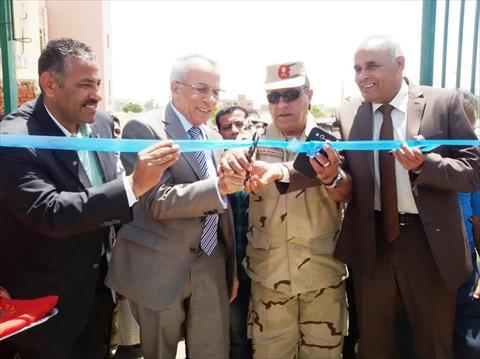 بالصور.. محافظ شمال سيناء يفتتح عدة مشروعات في «بئر العبد»