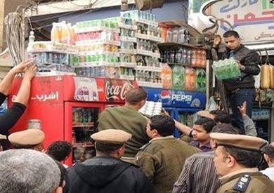 ضبط 2 طن ملح غير صالح للاستهلاك داخل مصنع جبن بالإسكندرية