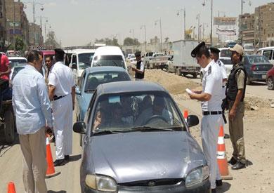 ضبط 662 مخالفة مرورية فى حملة أمنية بالمنيا