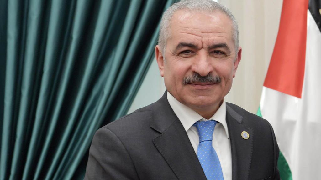 رئيس الوزراء الفلسطيني محمد اشتية