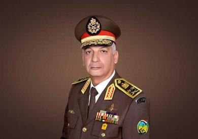 الفريق أول محمد زكى، القائد العام للقوات المسلحة وزير الدفاع والإنتاج الحربى