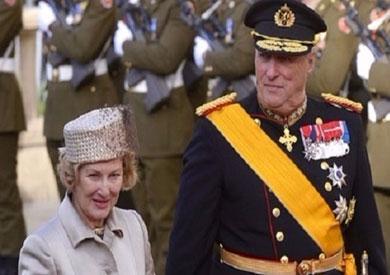 ملك وملكة النرويج يحتفلان بعيد ميلادهما الـ80
