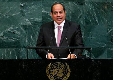 الرئاسة: مشاركة مصرية قوية في اجتماعات الأمم المتحدة
