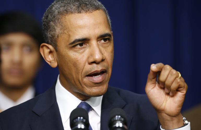 الرئيس الأمريكي الأسبق - باراك أوباما