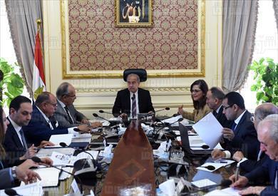 اجتماع لجنة الاصلاح الادارى بمجلس الوزراء تصوير سليمان العطيفى