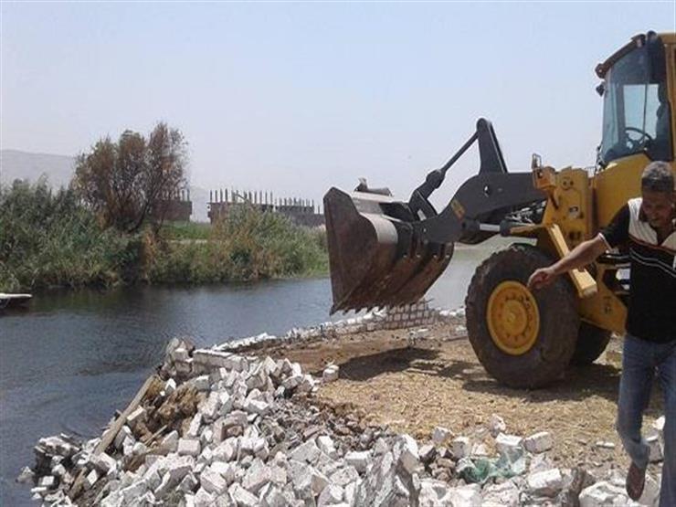 الري: إزالة 3329 حالة تعد على الترع و879 على منافع النيل