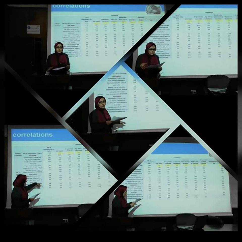 الباحثة والإحصائية صفاء صفوت