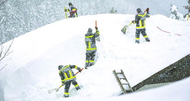 تحذيرات جديدة من حدوث انهيارات جليدية في جبال الألب في النمسا -