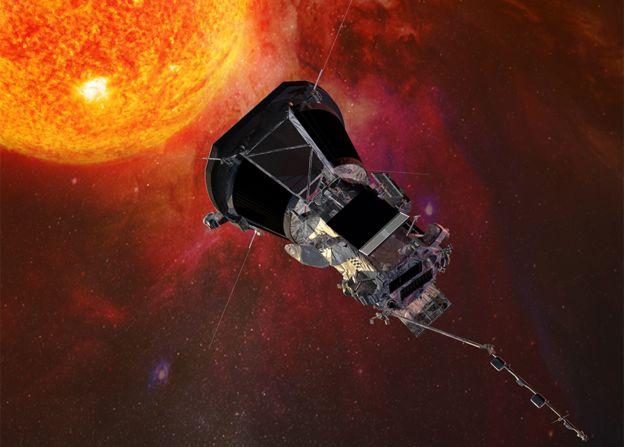 ناسا: المسبار «باركر» يلتقط أقرب صورة للشمس -