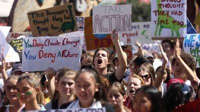 طلاب نيوزيلندا يبدأون موجة ثانية من الإضرابات العالمية بشأن تغير المناخ