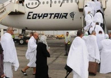 3545 معتمرا يعودون من الأراضي المقدسة على متن 16 رحلة لمصر للطيران