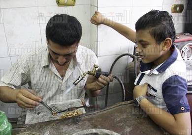 صناعة الذهب -الصاغة - تصوير احمد عبد لفتاح