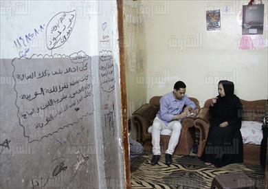 اهالى قتيل المطرية تصوير احمد عبد الفتاح