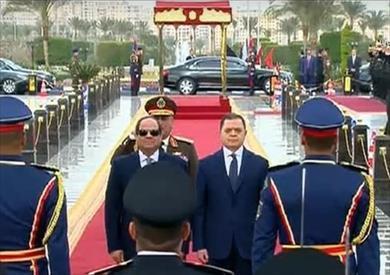 «توفيق» يعدد إنجازت الداخلية في كلمته أمام السيسي خلال احتفالية عيد الشرطة